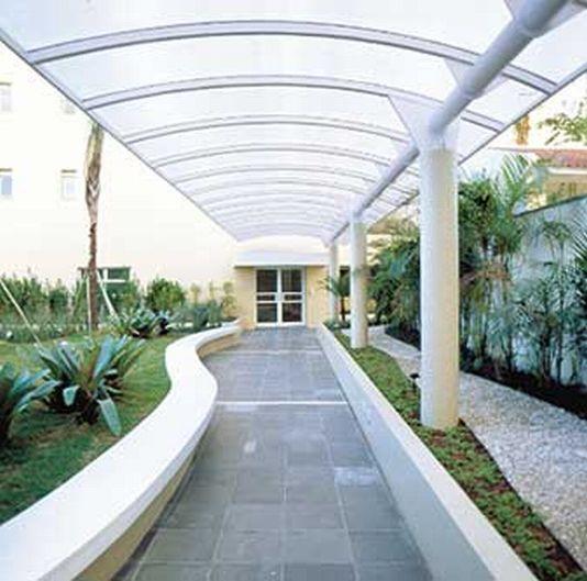 Toldos e coberturas for Techos de policarbonato para balcones